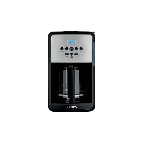 Krups EC314050 Savoy Stainless Steel 12-Cup Coffee Maker