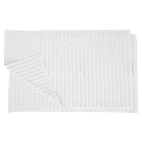 Miranda Haus Eco-Friendly Soft and Absorbent Bath Mat (set of 2)
