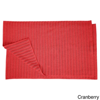 Superior Eco-Friendly Cotton Soft and Absorbent Bath Mat (set of 2) (2 options available)