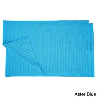 Superior Eco-Friendly Cotton Soft and Absorbent Bath Mat (set of 2) (More options available)