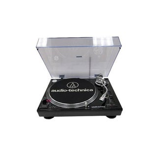Audio-Technica AT-LP120-USB Black Direct Drive Professional Turntable