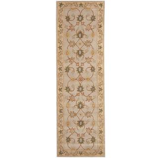 Herat Oriental Indo Hand-tufted Mahal Wool Runner (2'8 x 8'1)
