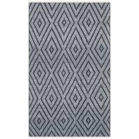 Safavieh Hand-Woven Montauk Navy/ Ivory Cotton Rug (2'3 x 3'9)