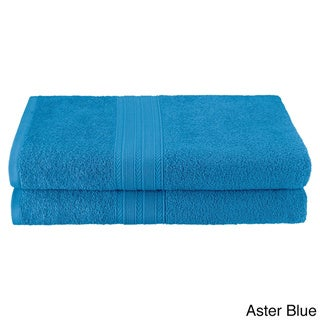 Superior Eco Friendly Cotton Soft and Absorbent Bath Sheet (set of 2)