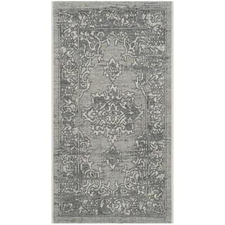 Safavieh Palazzo Light Grey/ Anthracite Medallion Area Rug (2' x 3'6)