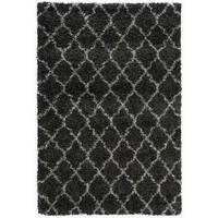 Nourison Amore Charcoal Shag Area Rug