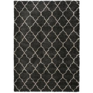 Nourison Amore Charcoal Shag Area Rug (10' x 13')