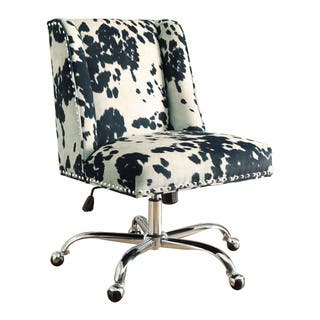 Linon Violet Office Chair - Cow Print|https://ak1.ostkcdn.com/images/products/11041400/P18054566.jpg?impolicy=medium