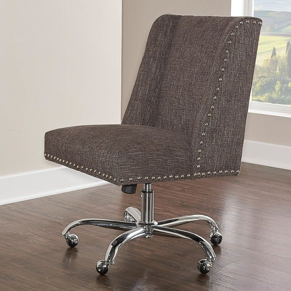 Copper Grove Lipcani Grey Fabric-upholstered Office Chair