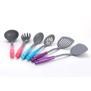 Sweet Home Collection Ergonomically Designed 6-piece Kitchen Utensil Set