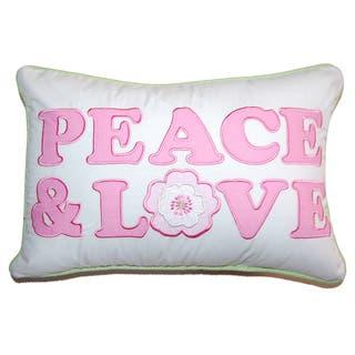 Greta Pastel Peace & Love Decorative Throw Pillow|https://ak1.ostkcdn.com/images/products/11041727/P18054885.jpg?impolicy=medium