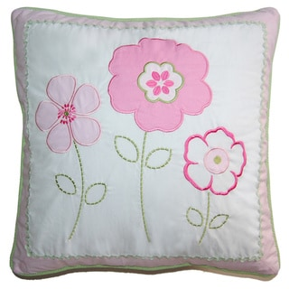 Greta Pastel Floral Decorative Pillow