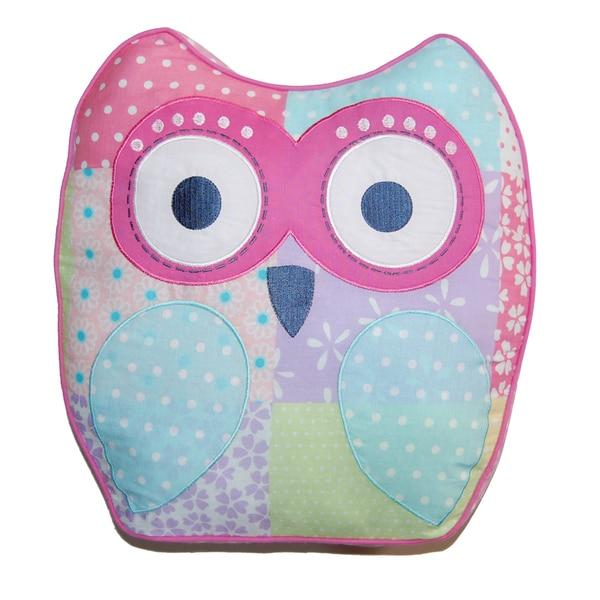Cute Owl Decorative Pillow