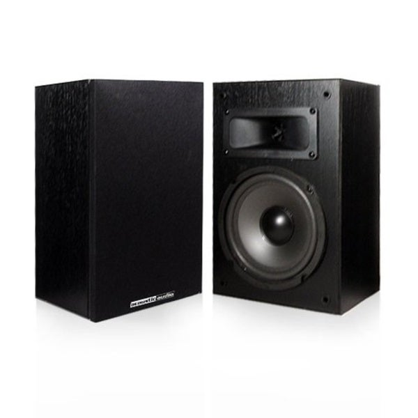 Acoustic Audio PSS 52 Bookshelf Speakers 100 Watt 525 Inch 2 Way
