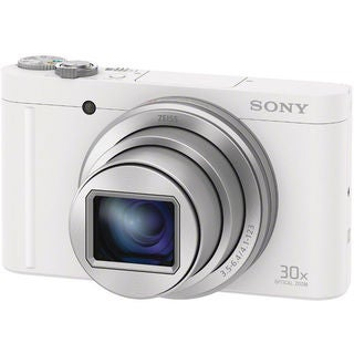 Sony Cyber-shot DSC-WX500 Digital Camera (White)