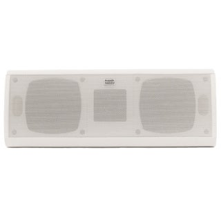 Acoustic Audio AA40CW Indoor Center 3 Way Speaker 500-watt White Bookshelf