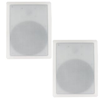 Blue Octave BDW82 In Wall Speakers 8-inch Home Kevlar Speaker Pair 800-watt