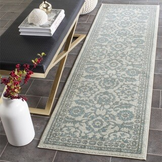 Safavieh Evoke Ivory/ Grey Rug (2'2 x 7')