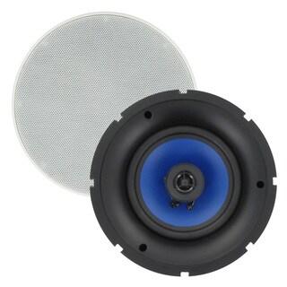 Blue Octave MSR6 In Ceiling Speakers Frameless 6.5-inch Home Speaker Pair 500-watt