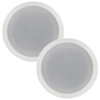 Blue Octave RC63 In Ceiling Speakers 3 Way 6.5-inch Home Speaker Pair 640-watt