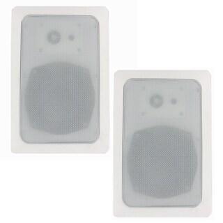 Blue Octave RW53 In Wall Speakers 3 Way Home Speaker Pair 560-watt