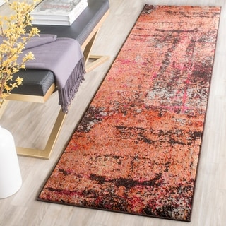 Safavieh Monaco Abstract Multicolored Distressed Rug (2'2 x 8')