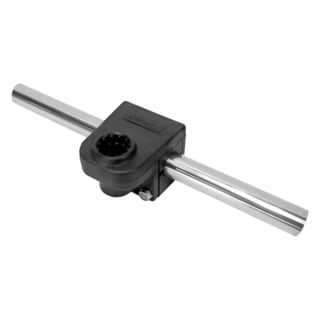 Scotty Rail Mounting Adapter Black 0.875-inch Round Rail