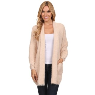 High Secret Women's Fuzzy Cardigan (One Size Fits Most)