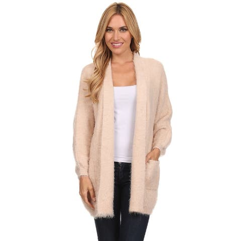 High Secret Women's Fuzzy Cardigan (One Size Fits Most)