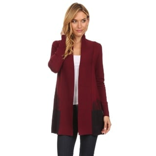 High Secret Women's Block Color Embellished Cardigan