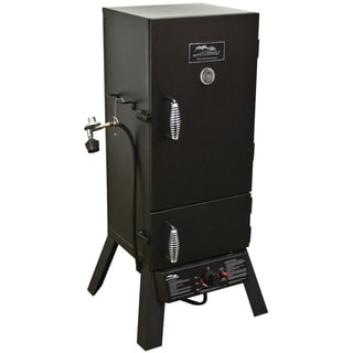 "MasterBuilt Sportsman Elite 30"" Gas Smoker With Push-button Ignition"