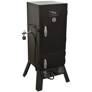 """MasterBuilt Sportsman Elite 30"""" Gas Smoker With Push-button Ignition