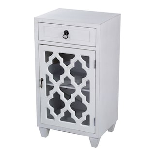 Heather Ann Single Drawer Door Cabinet With Gl