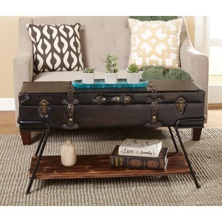Elegant Simple Living Trunk Coffee Table Part 31