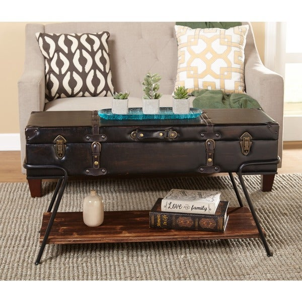 Shop Simple Living Trunk Coffee Table