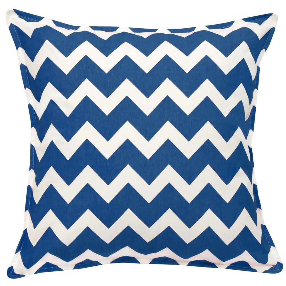 Shop Chevron Cotton Canvas 20-inch Pillow - 11042244