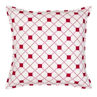 Geo Cotton Canvas 20-inch Pillow