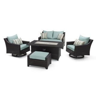 RST Brands Deco 5-piece Love and Motion Club Fire Set in Bliss Blue