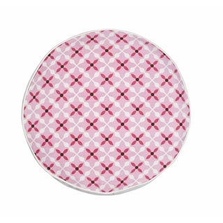 Quatrefoil Cotton Canvas 15-inch Pillow