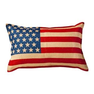 USA Burlap 14-inch x 22-inch Pillow