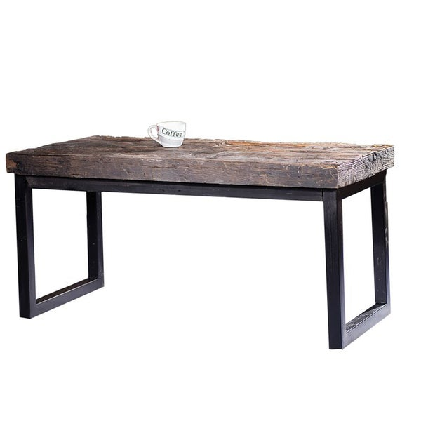 Lovely Arbor Reclaimed Wood And Cast Iron Coffee Table