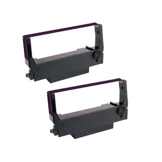 2 Pack Compatible ERC30 34 38 Ribbons Cartridges For Epson M119B M119D M133A M17JB M270 M52JB M63UA ( Pack of 2 )