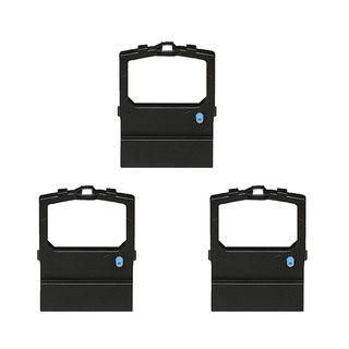 3PK Compatible 52102001 Ribbons For OKI ML-180 190 320 380 390 Series (Welded) ( Pack of 3)