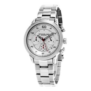 Stuhrling Original Men's Monaco Quartz Stainless Steel Bracelet Watch https://ak1.ostkcdn.com/images/products/11042722/P18055662.jpg?impolicy=medium