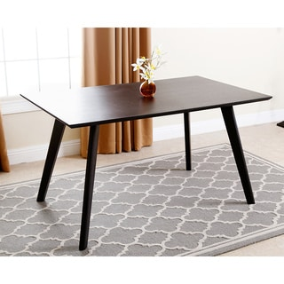 ABBYSON LIVING Valencia Espresso Wood Dining Table