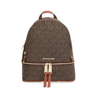 Michael Kors 'Rhea' Small Signature Fashion Backpack