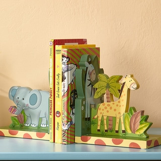 Fantasy Fields Sunny Safari Bookends Set