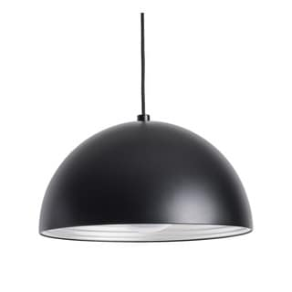Alico Cupola 1 Light Large Pendant In Black