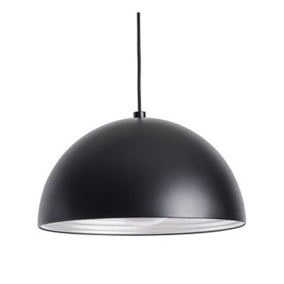 Alico Cupola 1 Light Small Pendant In Black