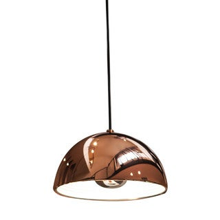 Alico Cupola 1 Light Small Pendant In Copper